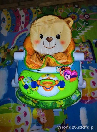Smilly play pchacz krzesełko chodzik jeździk miś