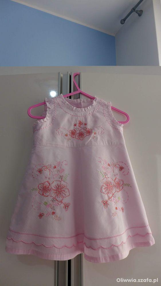 Śliczna sukienka Next 3 do 6 mcy
