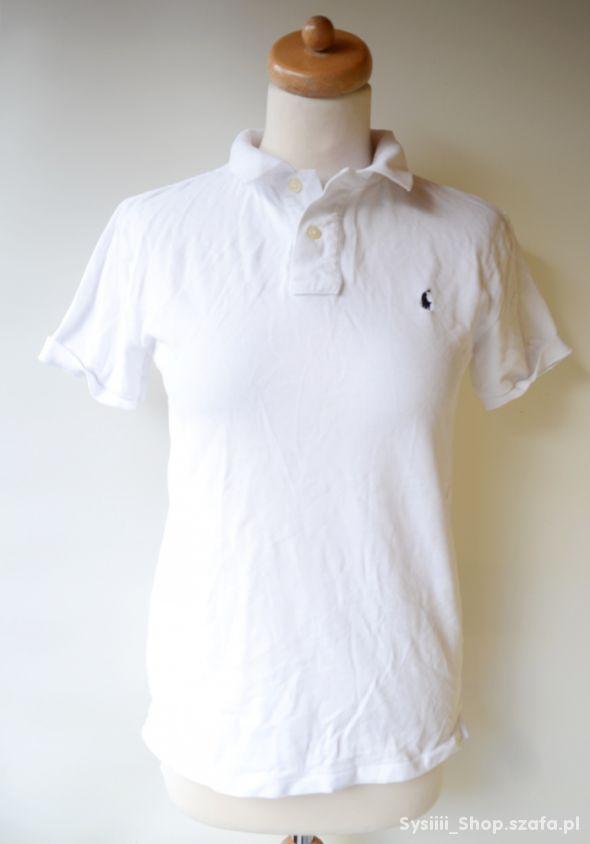 Koszulka Polo Ralph Lauren Biała RL 14 16 lat L