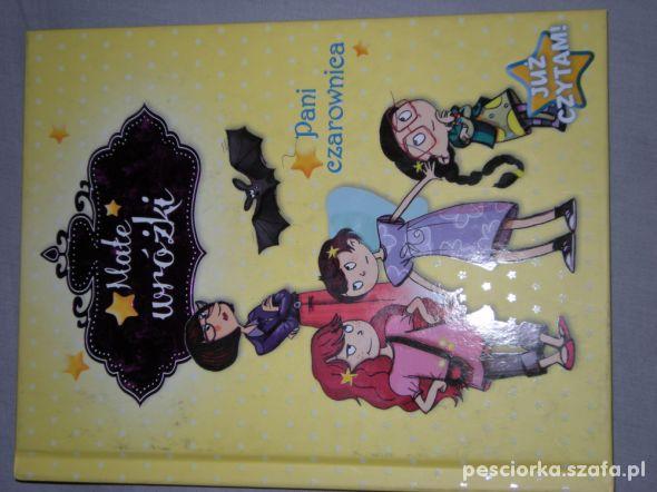 Małe wróżki Pani czarownica Już czytam nowa