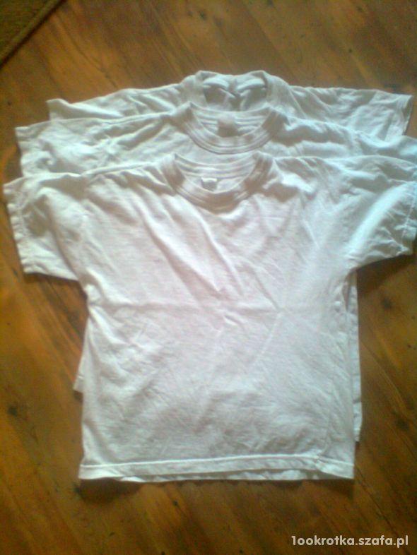 Koszulki na wf 128 trójpack