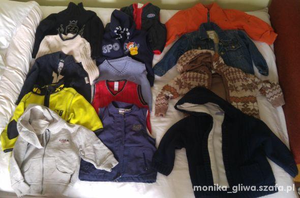 Ubranka dla chłopca do 2 lat