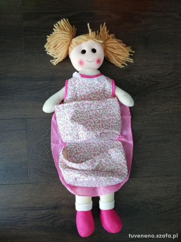 Lalka organizer na akcesoria niemowlęce