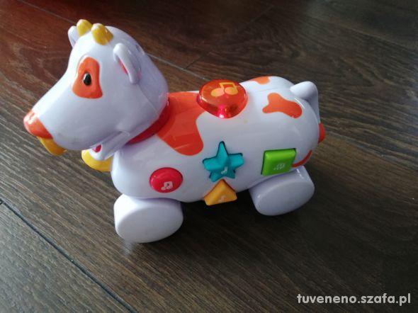 Zabawka grająca krowa