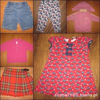 ZESTAW ubranek dla dziewczynki w wieku 2 3 latka
