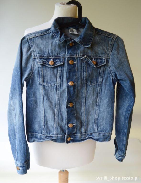 Kurtka Katanka Jeans H&M152 cm 11 12 lat Dzinsowa