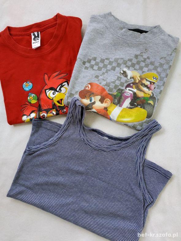 Koszulki chłopięce 116