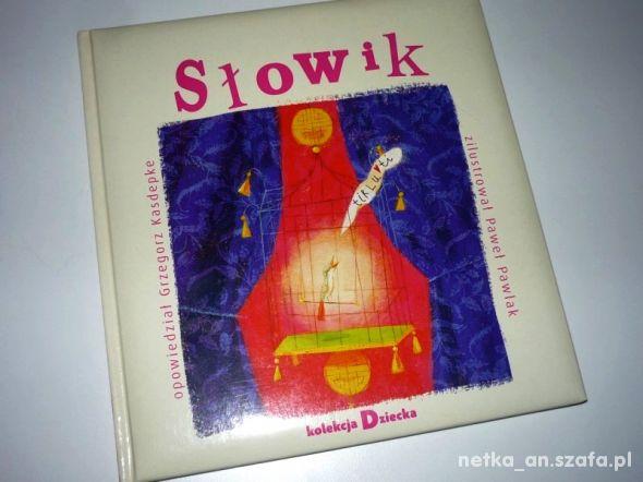 SŁOWIK książka dla najmłodszych dzieci