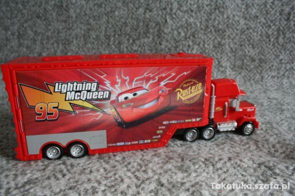 Maniek Kaskaderska skocznia 2w1 Cars Auta Mattel
