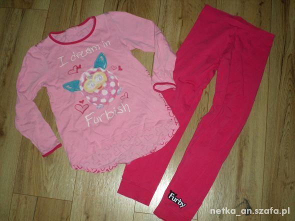 rozm 128 BHS Hasbro pidżama dziewczęca FURBY