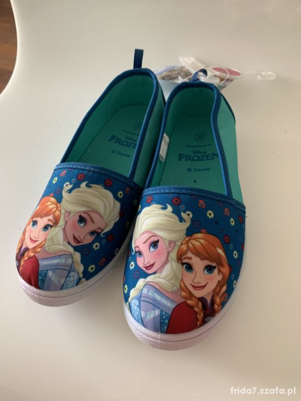nowe Slippersy Frozen 30