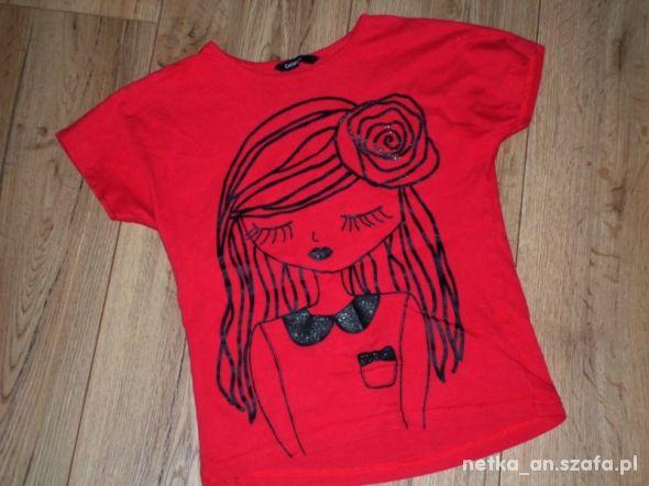 rozm 122 GEORGE bluzeczka z dziewczynką
