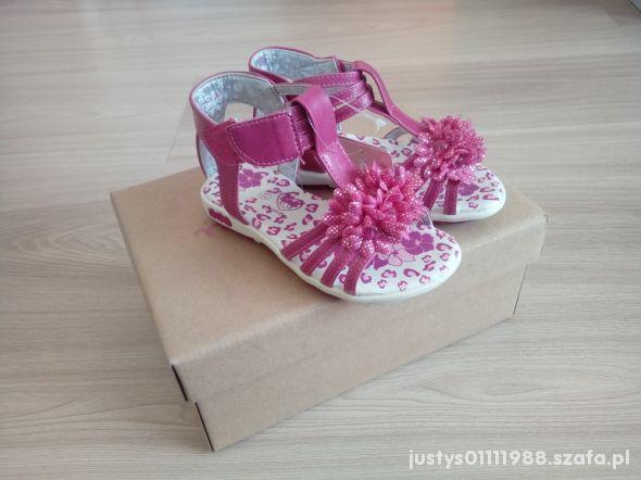 Sandałki Nelli Blu w rozmiarze 25
