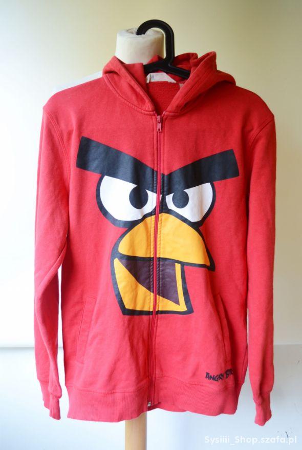 Bluza Czerwona H&M 170 cm 14 lat Angry Birds