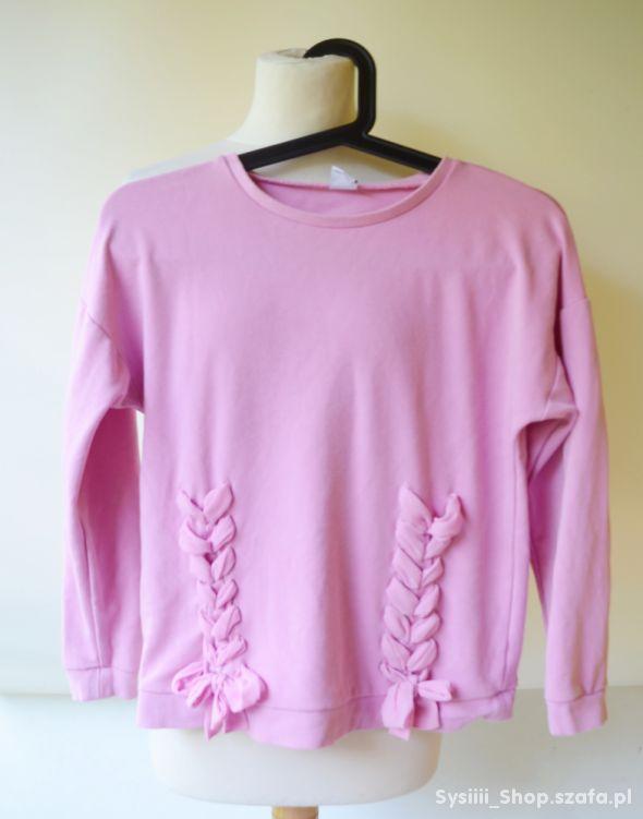 Bluza Różowa Sznurki Lindex Kids 134 140 cm 8 10 l