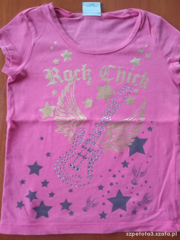 koszulka rockowa na 4 latka
