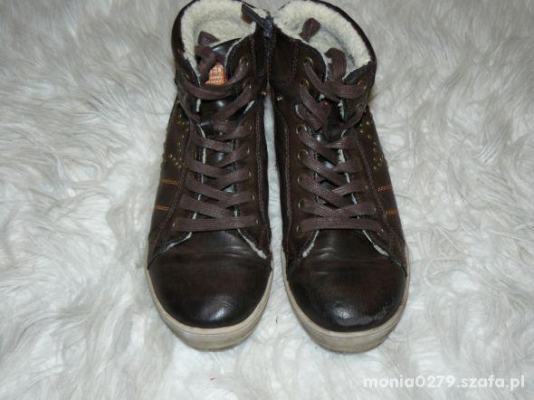 Ocieplane buty 35