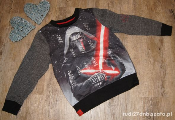 Bluza chłopiec Star Wars Kyloren C&A rozm 122 128