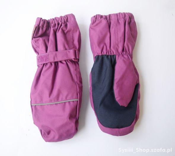 Rękawiczki Różowe Zimowe 7 9 lat 122 134 cm Leke T