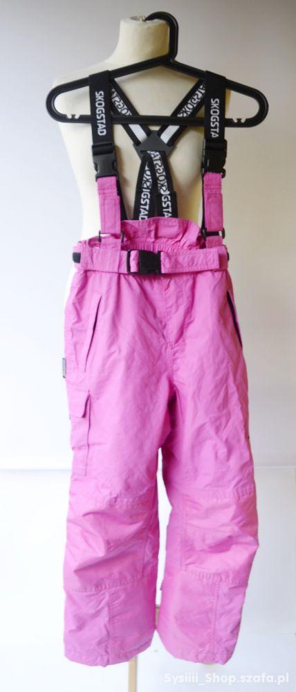Spodnie Narciarskie Różowe 10 lat 140 cm Skogstad