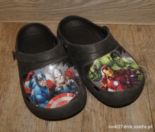Buty crogsy klapki Avengers rozm 30