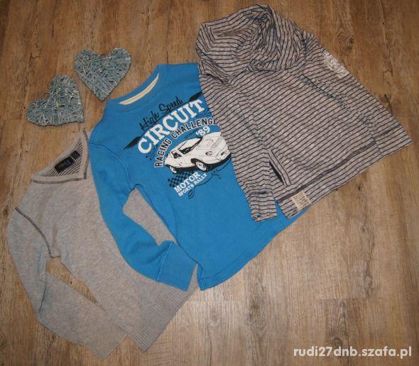 Bluzka sweterek zestaw Next rozm 116