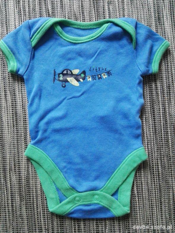 Body krótki rękaw niemowlęcy paka rozmiar 0 do 3 m