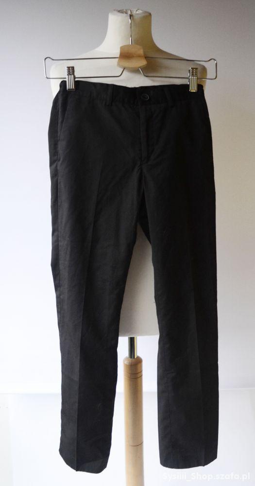 Spodnie Czarne 146 cm 11 lat Cubus Wizytowe Elegan