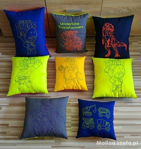 Brawl Stars poduszki ozdobne prezent mikołaj pokój