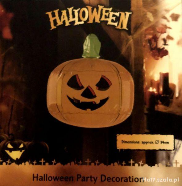 LIDL dmuchana dynia halloweenowa średnica 34 NOWA