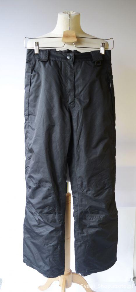 Spodnie Narciarskie Czarne 146 152 cm 11 12 Crivit