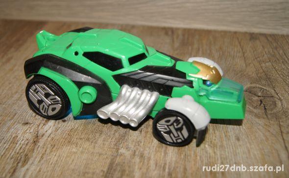 Auto pojazd Transformers świeci dźwięki