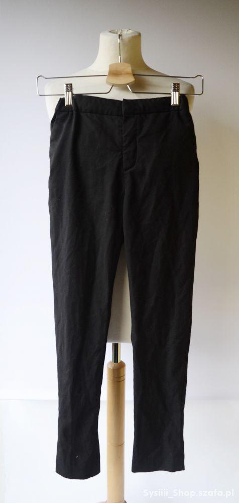 Spodnie Czarne Eleganckie 152 cm 11 12 lat H&M Wiz
