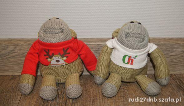 Maskotki przytulanki Małpki