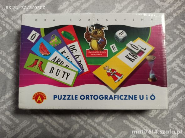 Puzzle ortograficzne z ó i u