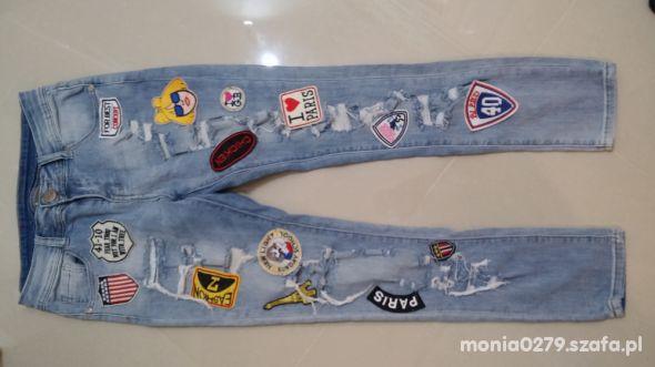 Spodnie jeansowe XS