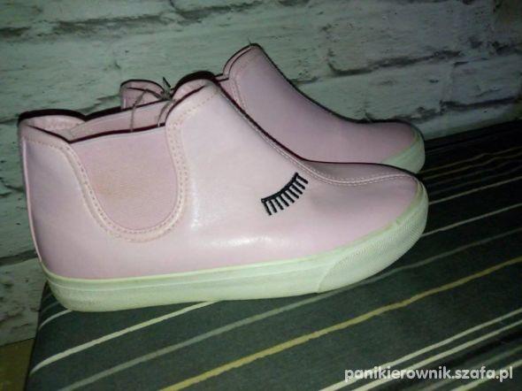 Nowe buty botki wsuwane dziewczęce r31
