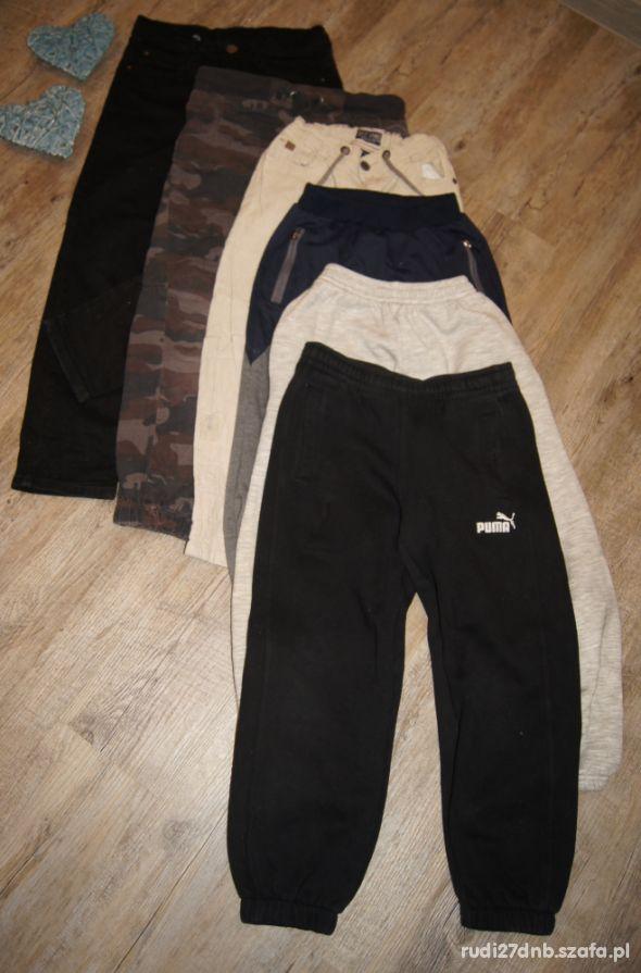 Mega paka zestaw spodnie Puma chłopiec rozm 122