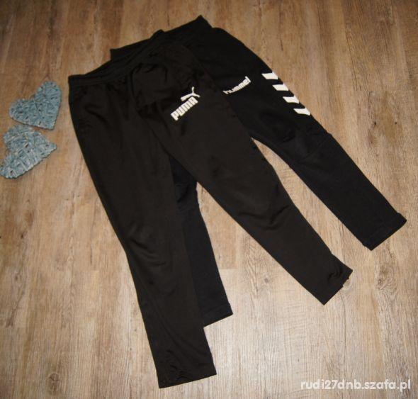 Zestaw spodnie Puma Hummel chłopiec rozm 122 128