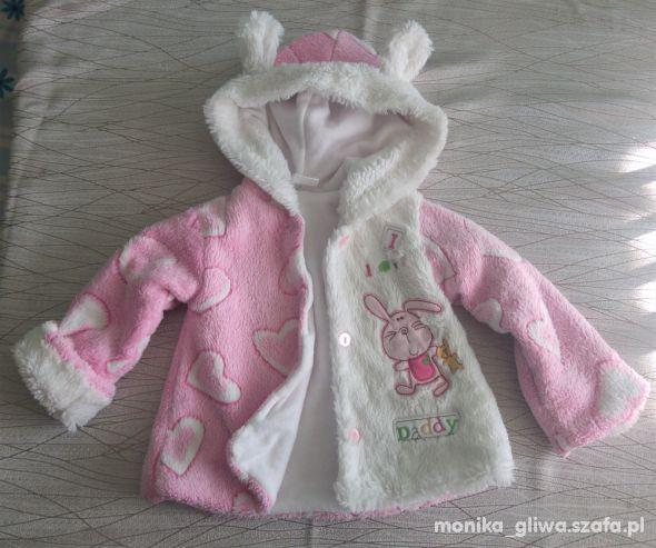 Ciepły sweterek kurtka 80