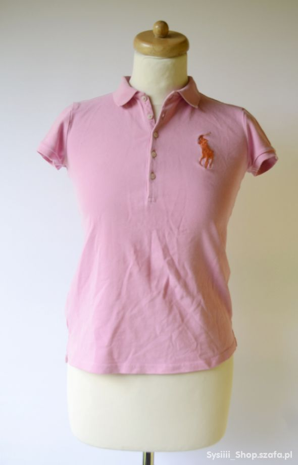 Koszulka Polo Różowa Ralph Lauren 16 lat 164 cm