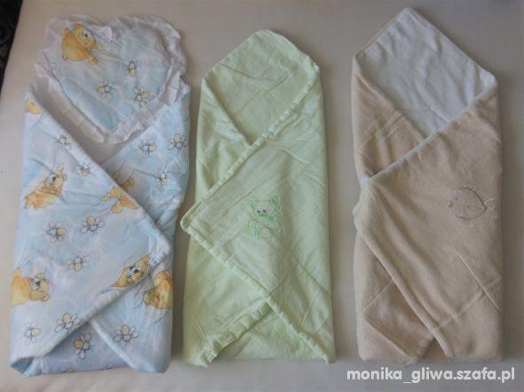 Rożki i ręczniki dla niemowląt