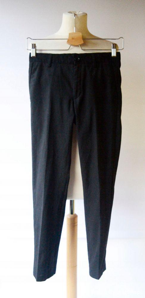 Spodnie Czarne Wizytowe Cubus 146 cm 11 Garnitur