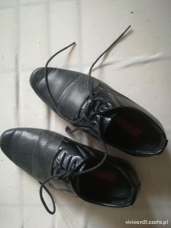 Badox 32 wizytowe czarne buty komunijne 32