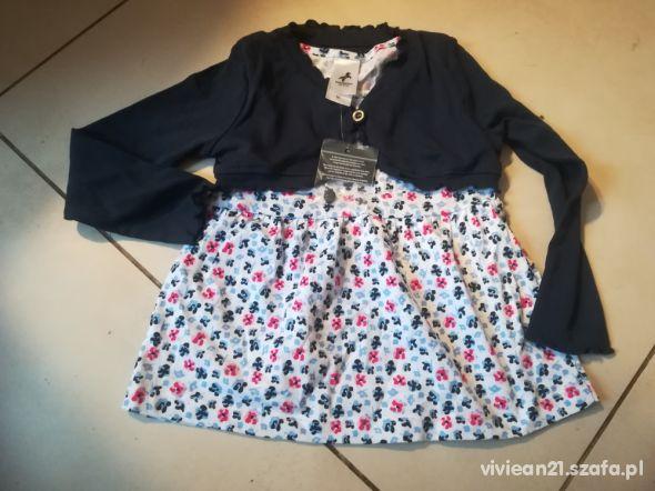 Palomino 98 sukienka tunika bolerko 2w1 nowa