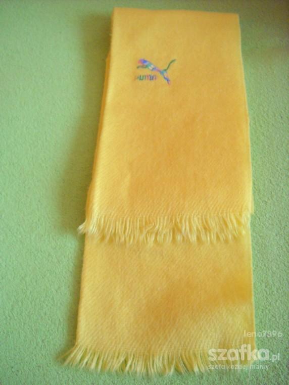 szaliczek żółty PUMA