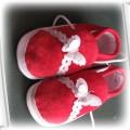 czerwone kapcie 19