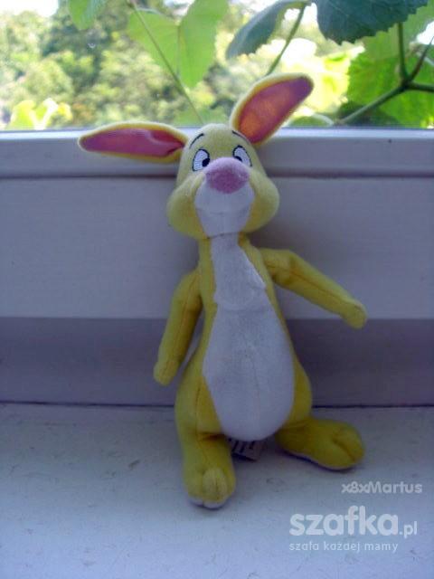 królik z kubusia puchatka mała maskotka