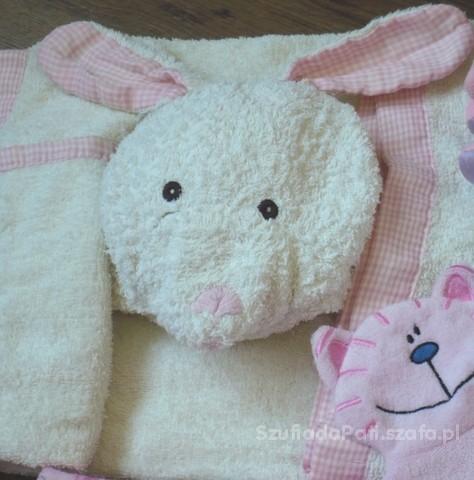 Duży ręcznik kąpielowy króliczek