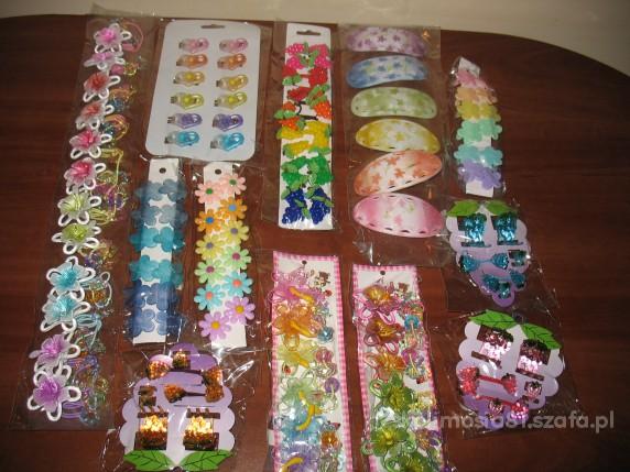 spinki gumki ponad 100 szt tylko 40zł z przesyłką